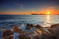 Ein beliebtes Motiv: der Sonnenuntergang