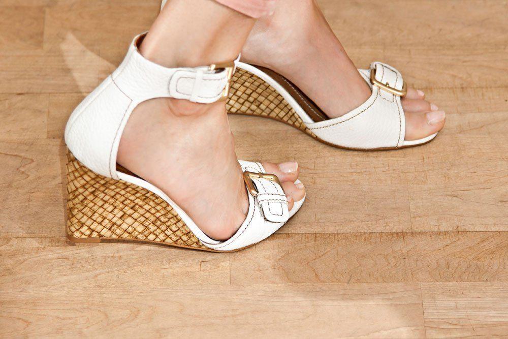 schuhe trend trends keilabsätze high heels