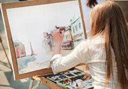 Bei der Konrad Adenauer Stiftung können Künstler ein Stipendium bekommen