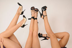 High Heels sind immer noch sehr beliebt
