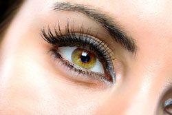 Zu einem tollen Make Up gehören auch strahlende Augen
