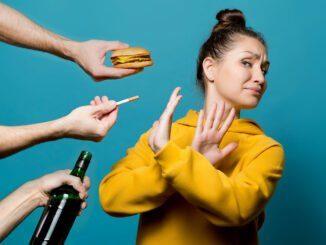 Rauchen, Alkohol und Ernährung