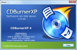 CDBurnerX: ist ein kostenloses Programm um CDs, DVDs und Blu Rays brennen zu können