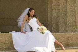 Das Brautkleid sollte zu Ihrem Typ passen