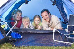 Campen ist für Kinder Abenteuer pur