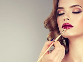 glamour look make-up glow schimmer