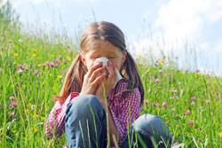 Jedes sechste Kind leidet an Heuschnupfen