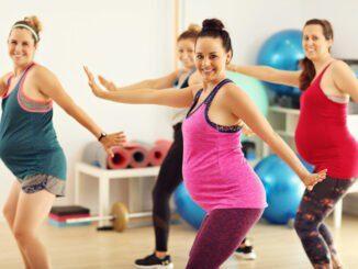 Übungen Gymnastik schwanger