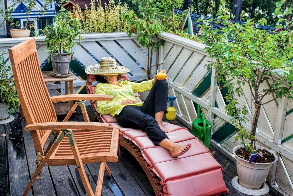 Balkonien Urlaub zuhause