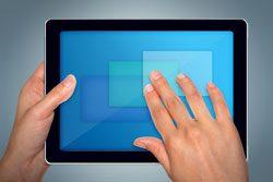 Befreien Sie die Fingerabdrücke sanft von Ihrem iPad Display