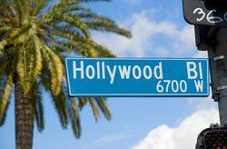 Hollywood ist die Heimat der Stars und Sternchen