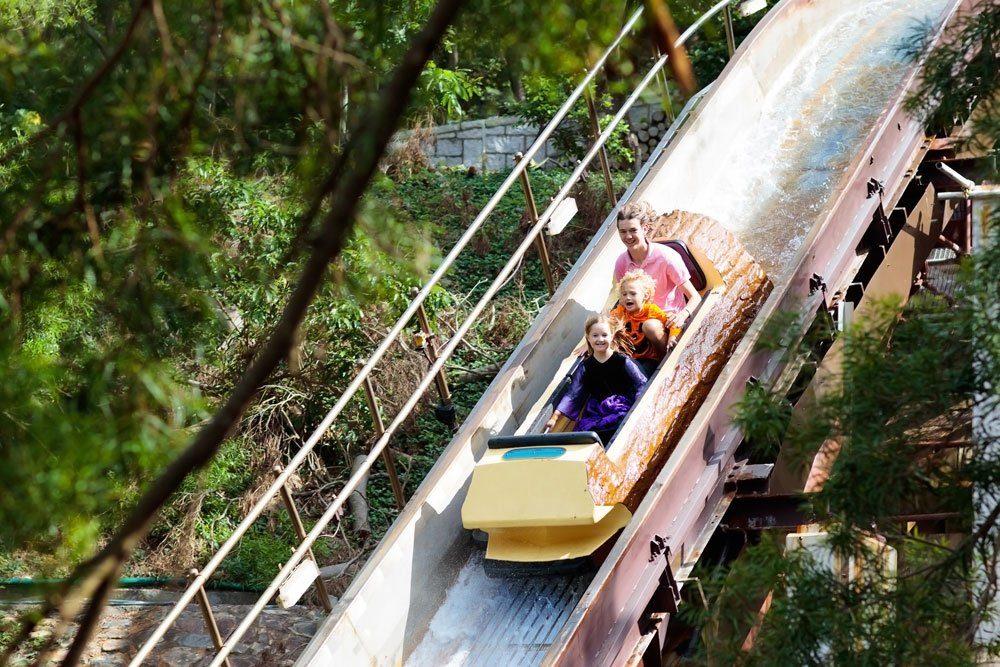 Reisen Kinder Freizeitpark
