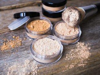 mineralmake-up kosmetik puder blush