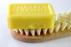 Seife gegen Pickel - Kernseife ist ein altes Hausmittel