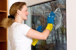 Fenster putzen - eine sehr unbeliebte Hausarbeit