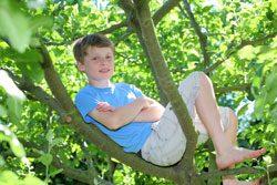 Garten für Kinder - Zonen zum Ausruhen und Toben muss es geben