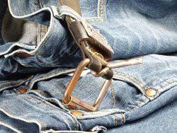 Jeans einlaufen lassen - Auf den Gürtel verzichten können