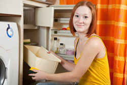 Zweimal jährlich sollten Sie den Kühlschrank abtauen