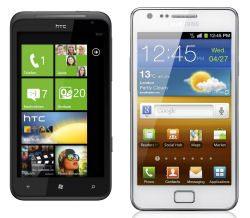 iPhone 4S Alternative von Samsung und HTC