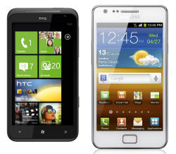 Samsung Galaxy S2 & HTC Titan