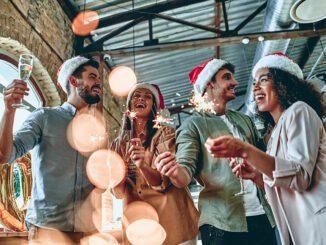 Weihnachten feiern im Buero