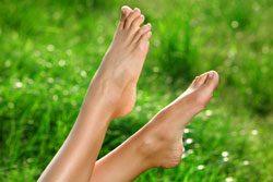 Trainieren Sie Ihre Füße