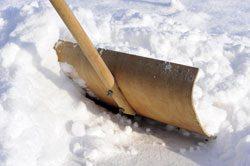 Bauen Sie sich einen Schneeschieber