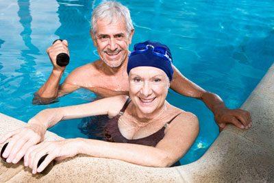 Aqua-Gymnastik ist schonend für die Gelenke