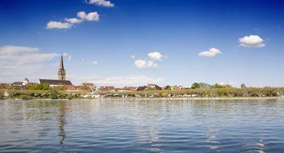 Wunderschöne Uferpromenade in Radolfzell