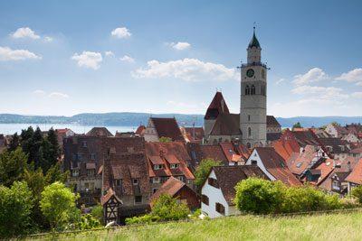Altstadt von Überlingen mit St. Nikolaus Münster