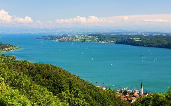 Urlaubsorte am Bodensee