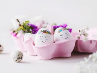 Ostereier gestalten kreativ basteln malen