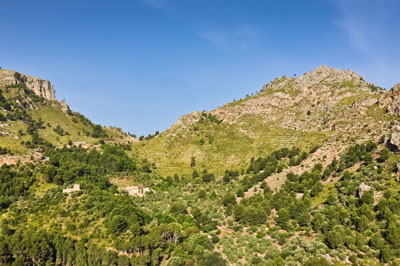 Das Tramuntana-Gebirge