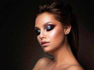 make-up trends lidschatten lippenstift
