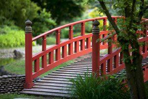 Brücken haben in Asien auch eine wichtige Symbolik