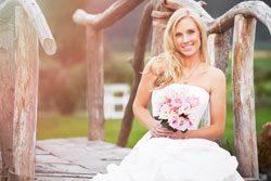 Schlichte Brautkleider sind sehr angesagt