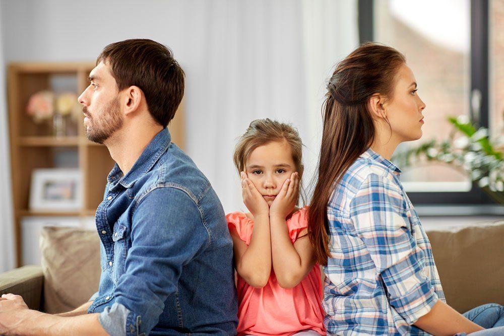 Familienkonferenz Probleme Familie Streit