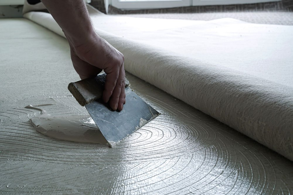 teppich verlegen anleitung kleben tipps
