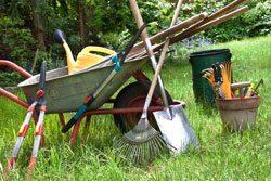 Gartengeräte erleichtern die Arbeit ungemein