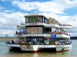 MS Brombachsee - Europas größter Passagier-Trimaran