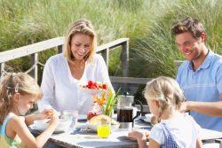 Unterkünfte sind perfekt für Familien