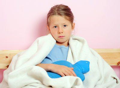 Viele Kinder leiden unter Bauchschmerzen