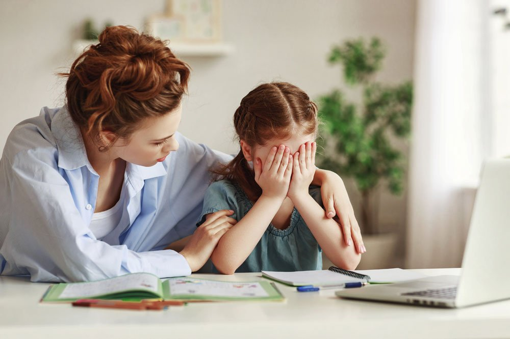 Kind traurig Misserfolg lernen Motivation