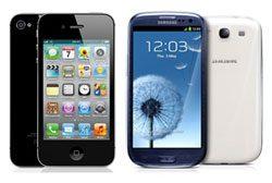 iPhone 4S und Samsung Galaxy S3