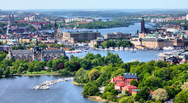 Stockholm ist die größte Stadt in Skandinavien