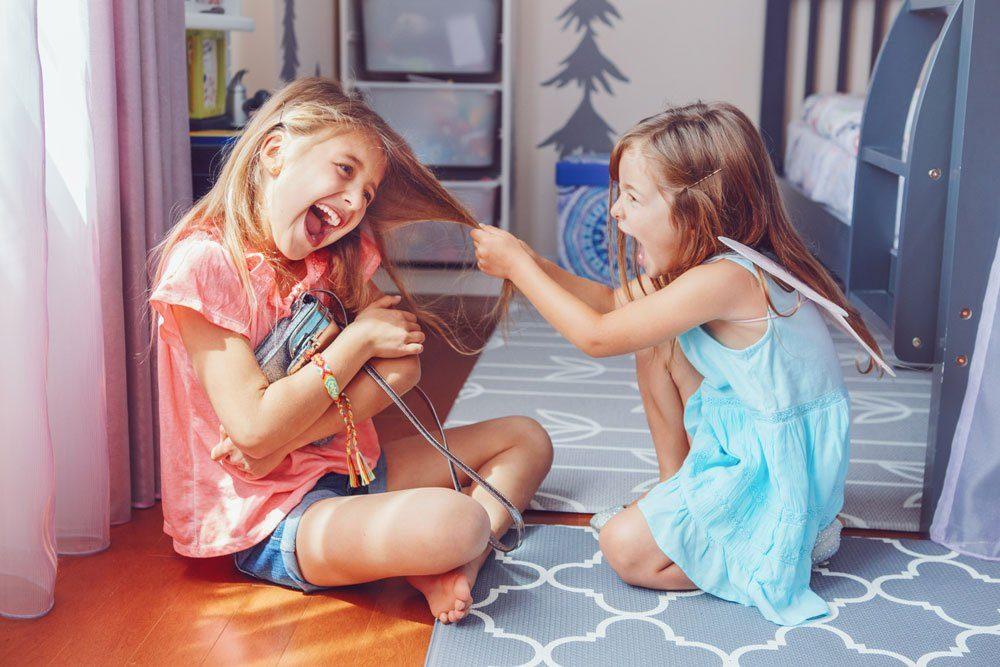 Geschwister Streit, Stopp-Verhalten, 1-2-3-Methode
