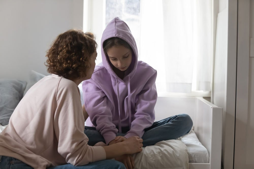Mobbing Eltern Gespräch Kind