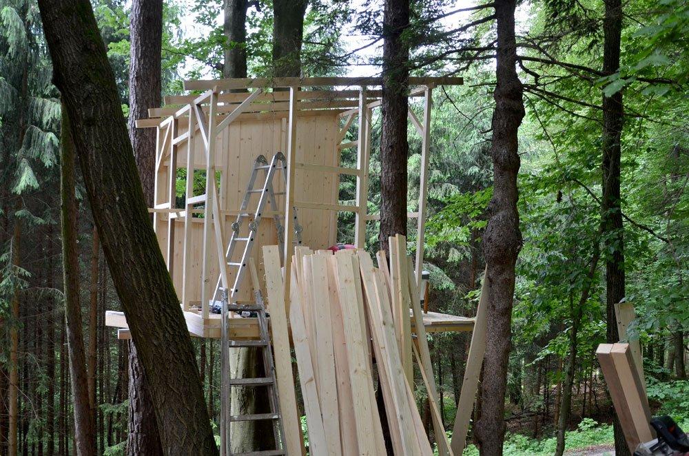 baumhaus bauen anleitung tipps