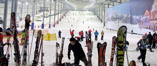 Wie wäre es mal mit Ski fahren?