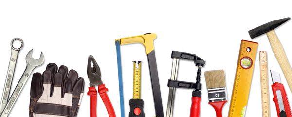 Grundausstattung für Hobby-Heimwerker
